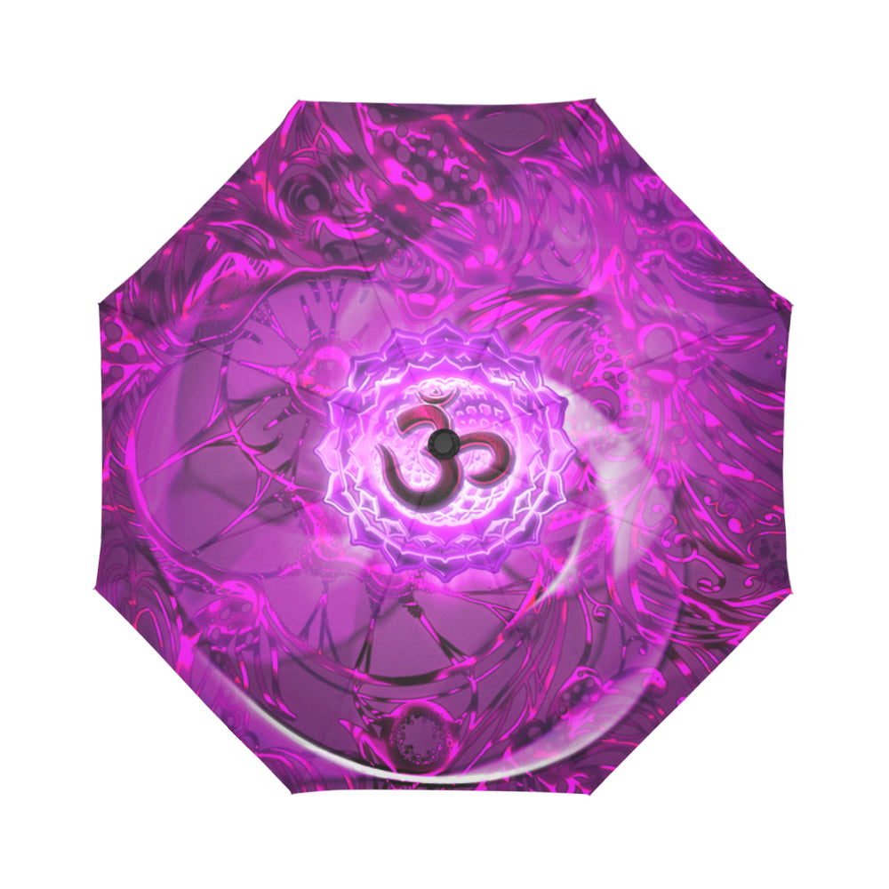 Crown Chakra Sahasrara Auto-Foldable Umbrella