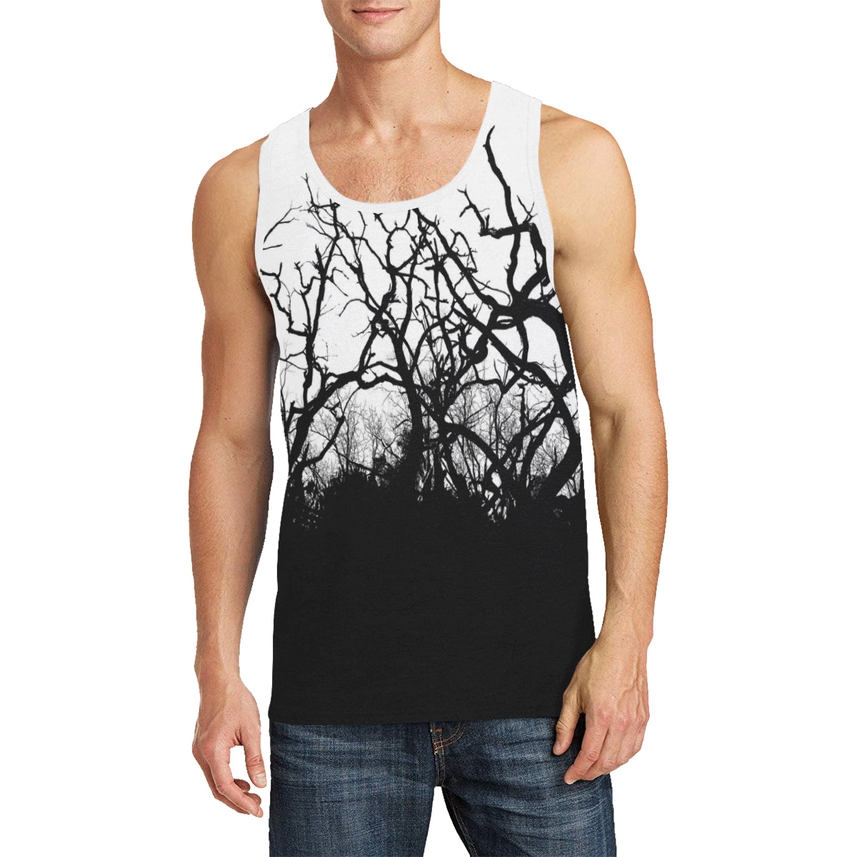 Dead Trees ALT Men's All Over Print Tank Top (Model T57)