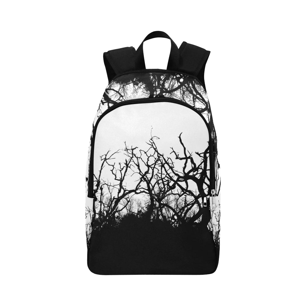 Dead Tree Black Roots Fabric Backpack for Adult