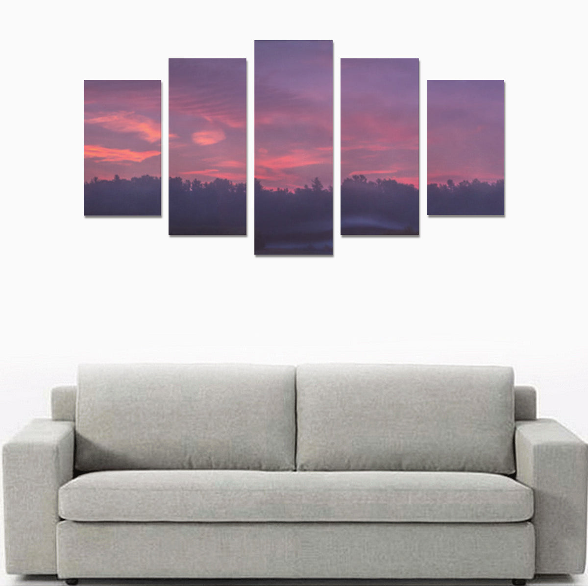 Panorama 0733 Canvas Print Sets - Size A