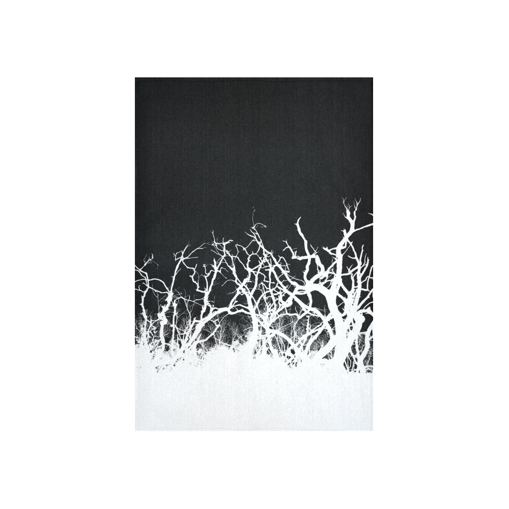 "Dead Tree White Roots Cotton Linen Wall Tapestry 40""x 60"""
