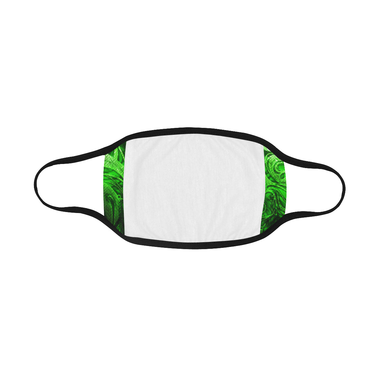 Biohazzard Green Symbol Mouth Mask