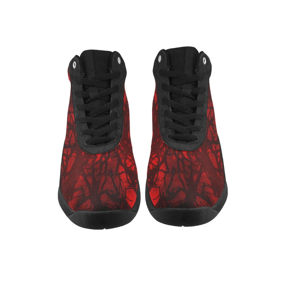 Red Carnage Blood Vein MEN'S Thunder Basketball Shoes