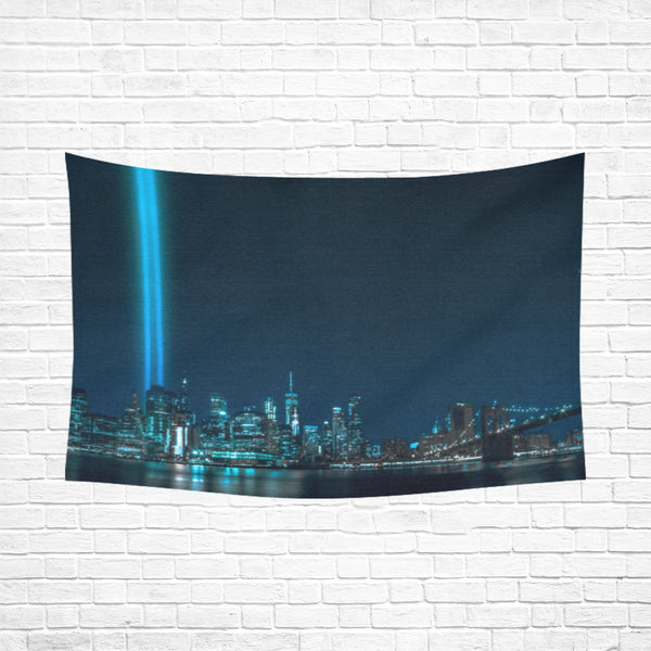 "Panorama 1282 Cotton Linen Wall Tapestry 90""x 60"""