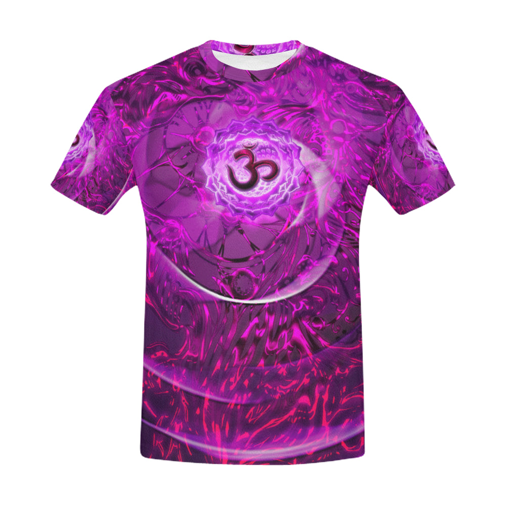 Crown Chakra Sahasrara All Over Print T-Shirt for Men