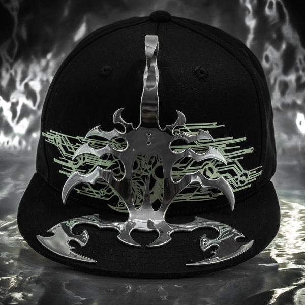 Aluminum Digital Glowing Scorpion Hat