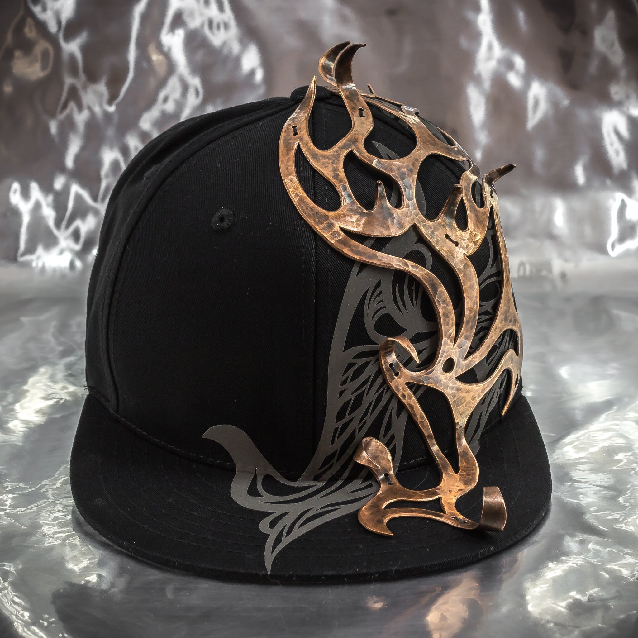 Copper Crown Flame Hat