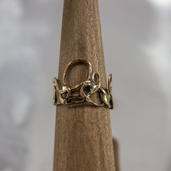 Organic Wire Wrap Ring 2