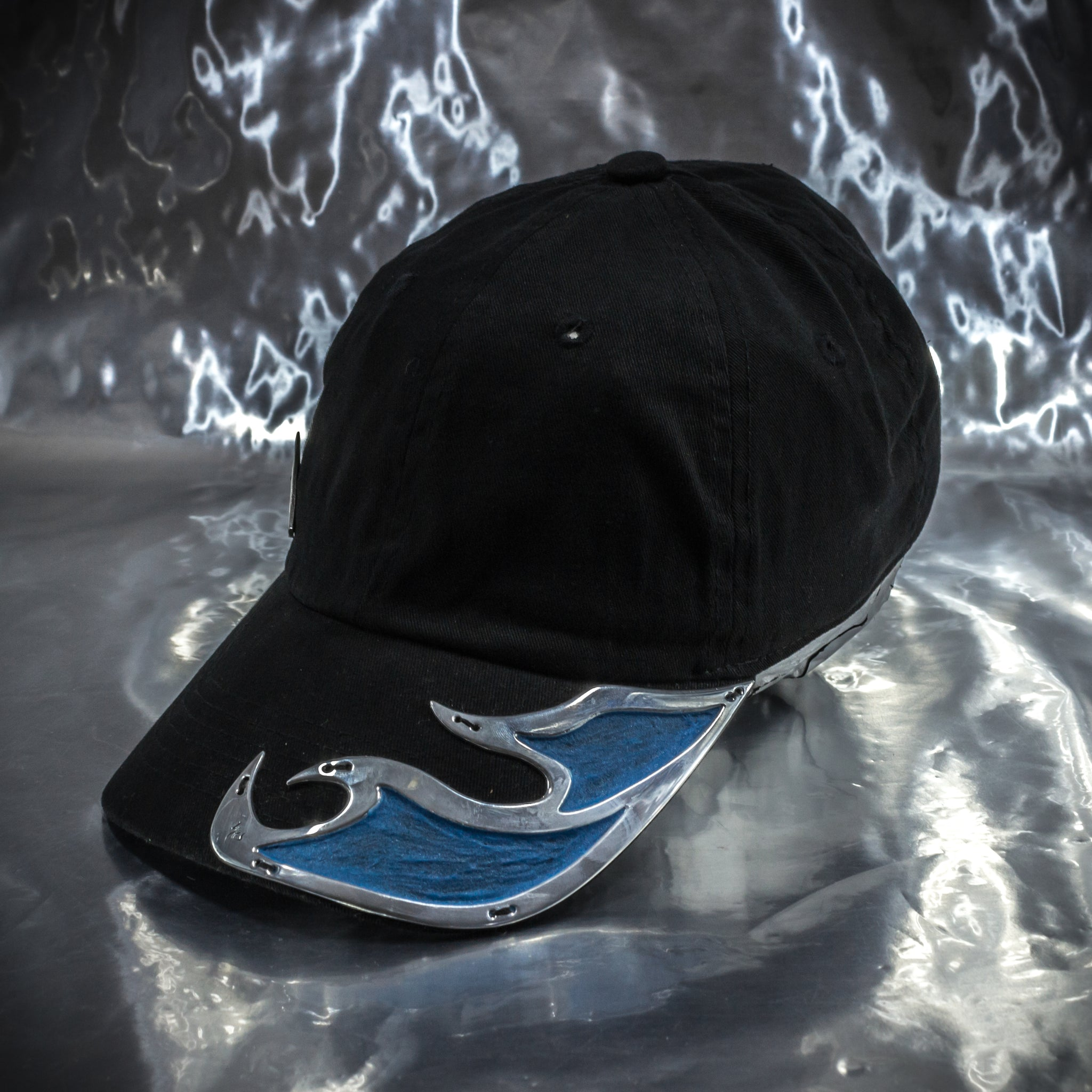 Glowing Aluminum Inner Flame Hat