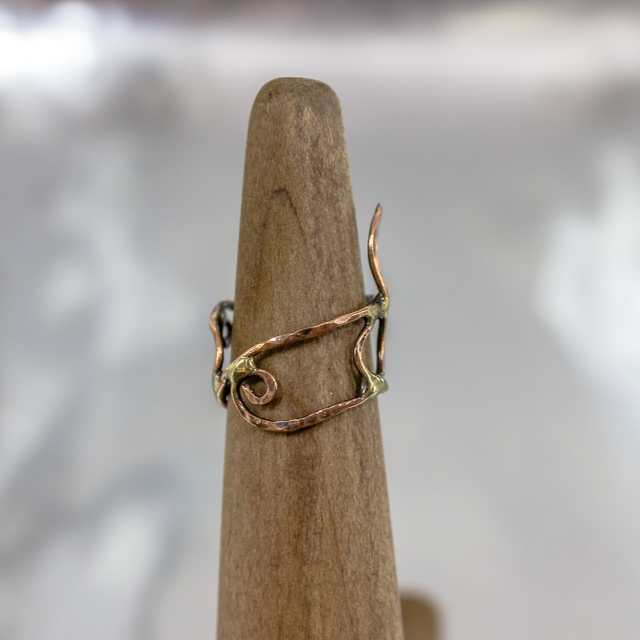Organic Wire Wrap Ring 6