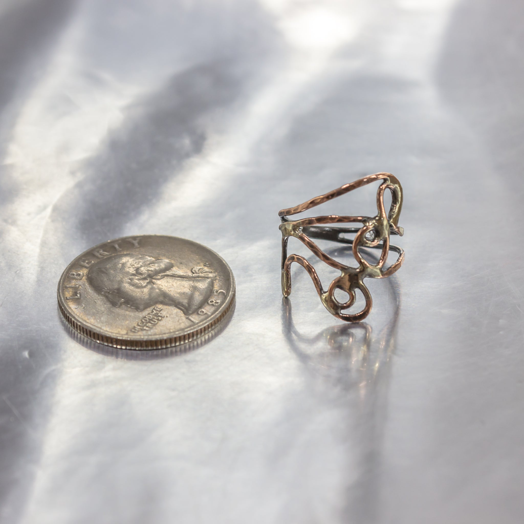 Organic Wire Wrap Ring 10
