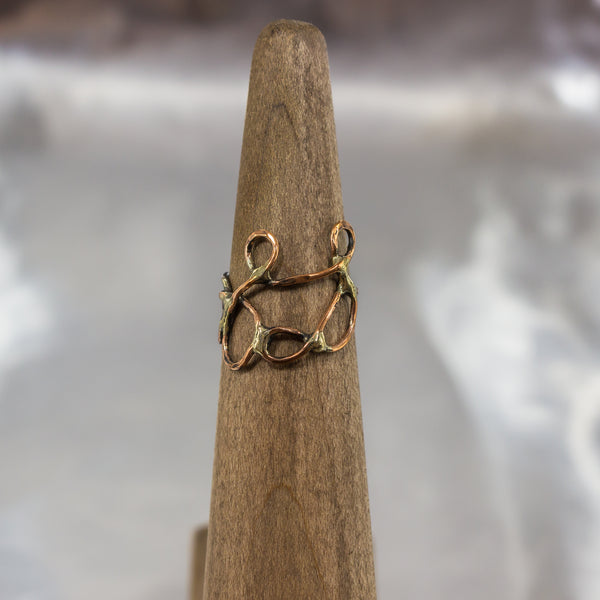 Organic Wire Wrap Ring 7