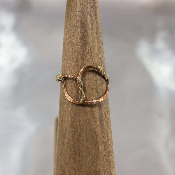 Organic Wire Wrap Ring 8