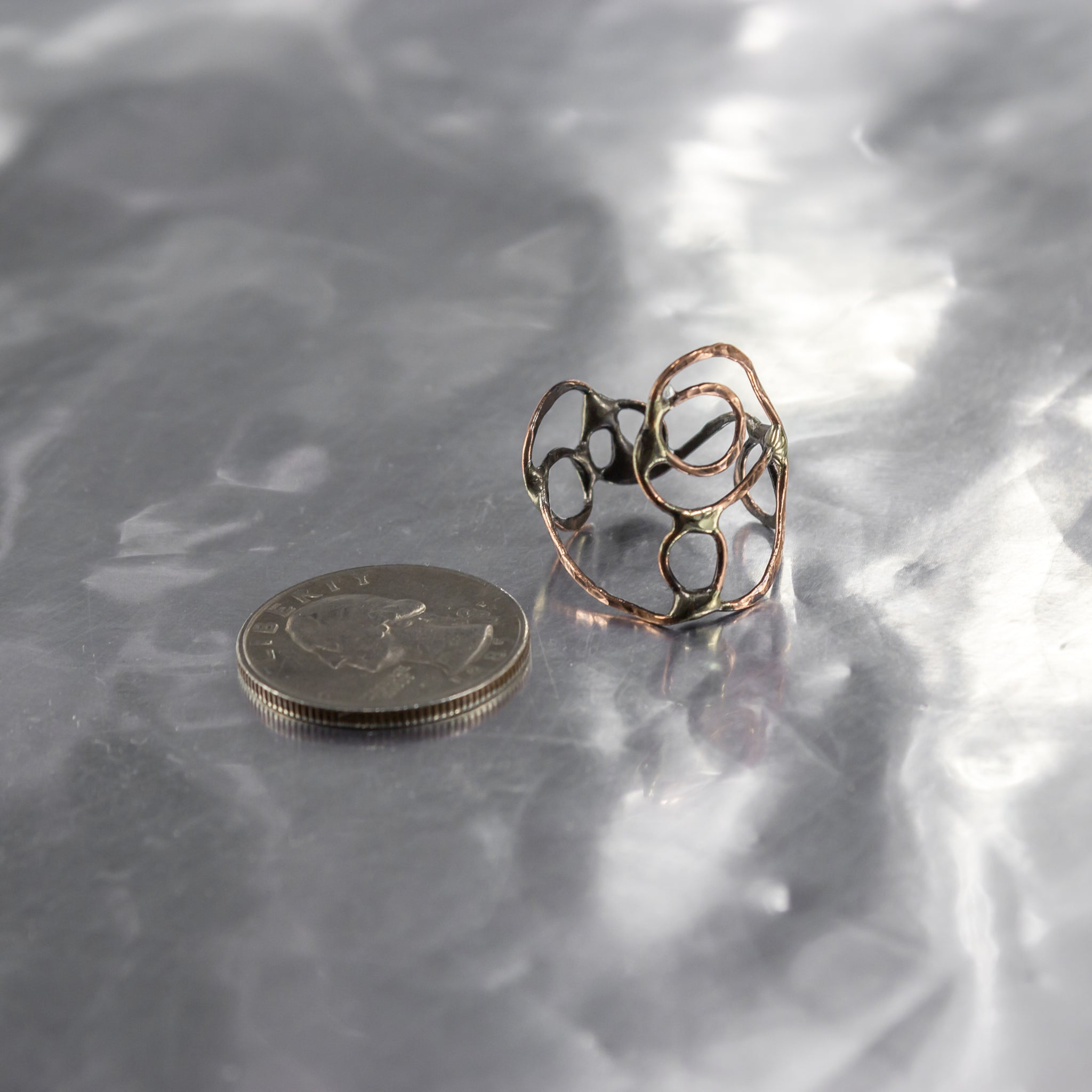 Organic Wire Wrap Ring 11