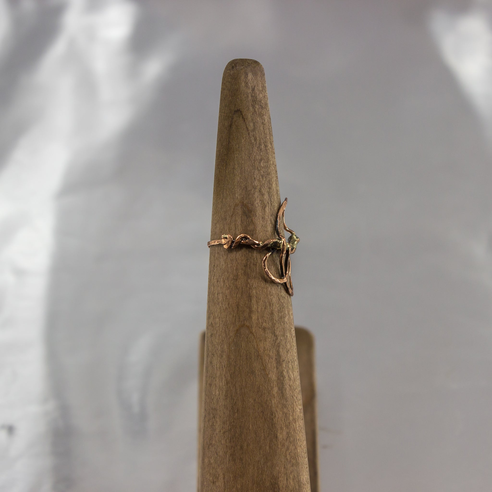 Organic Wire Wrap Ring 12