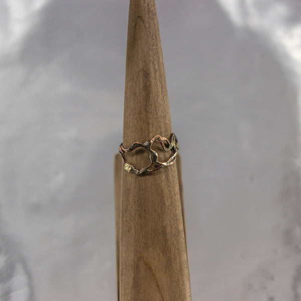 Organic Wire Wrap Ring 14