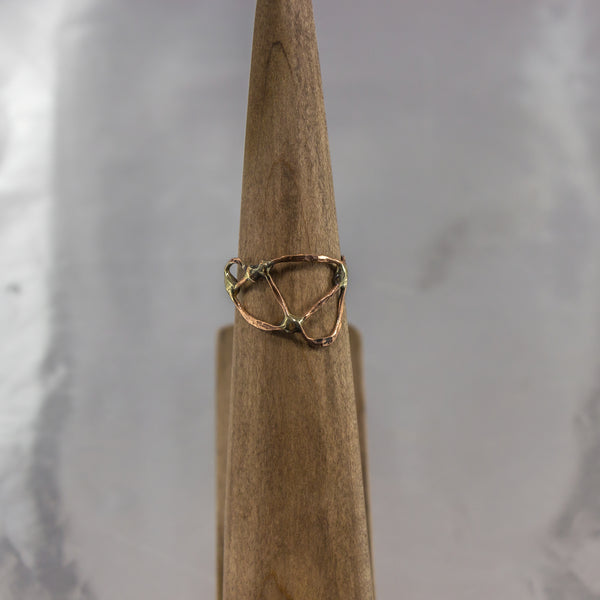 Organic Wire Wrap Ring 16