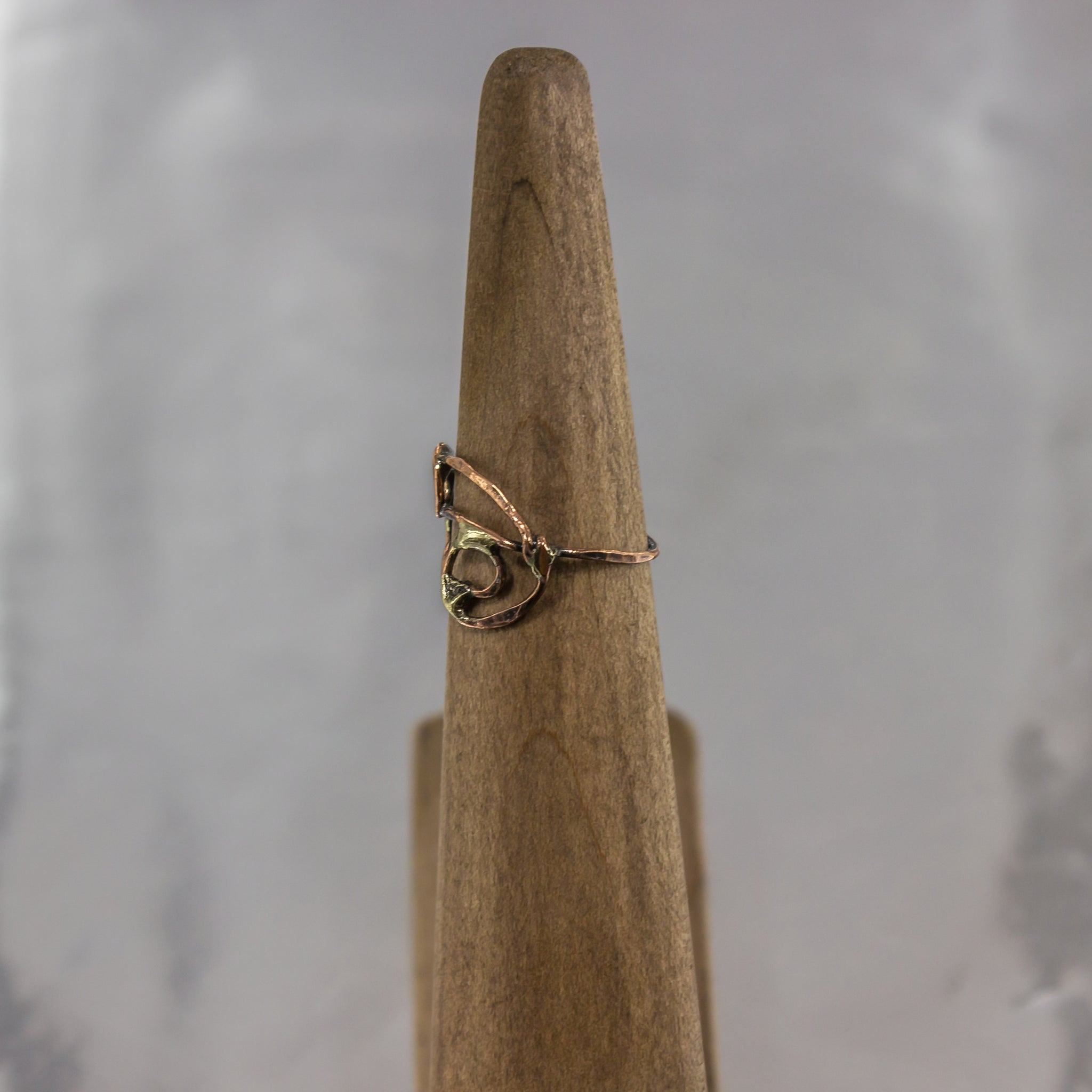 Organic Wire Wrap Ring 17