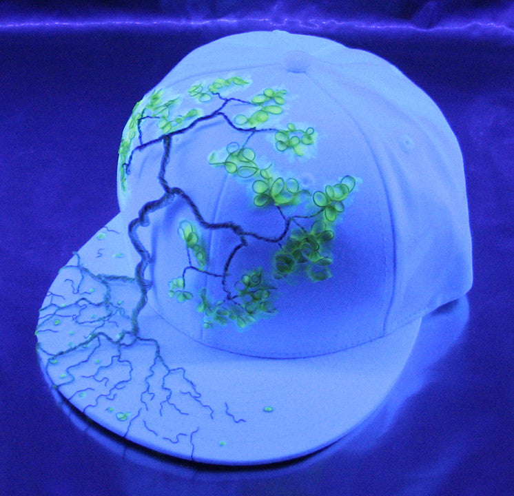 Glowing Wire Wrap Tree Hat