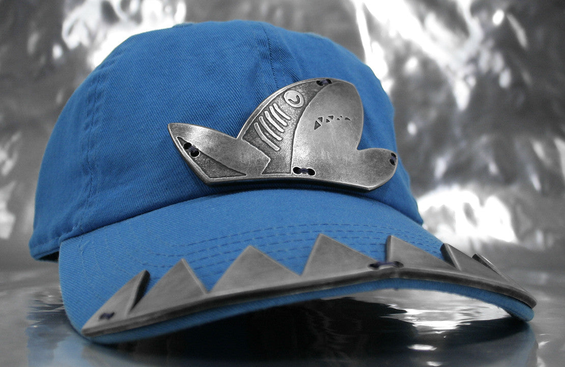 Aluminum Shark Theme Hat