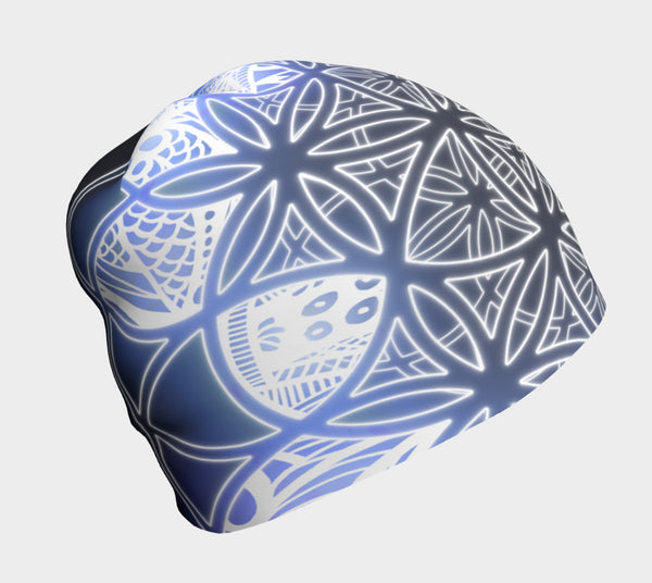 Flower of Life - Ice Beanie