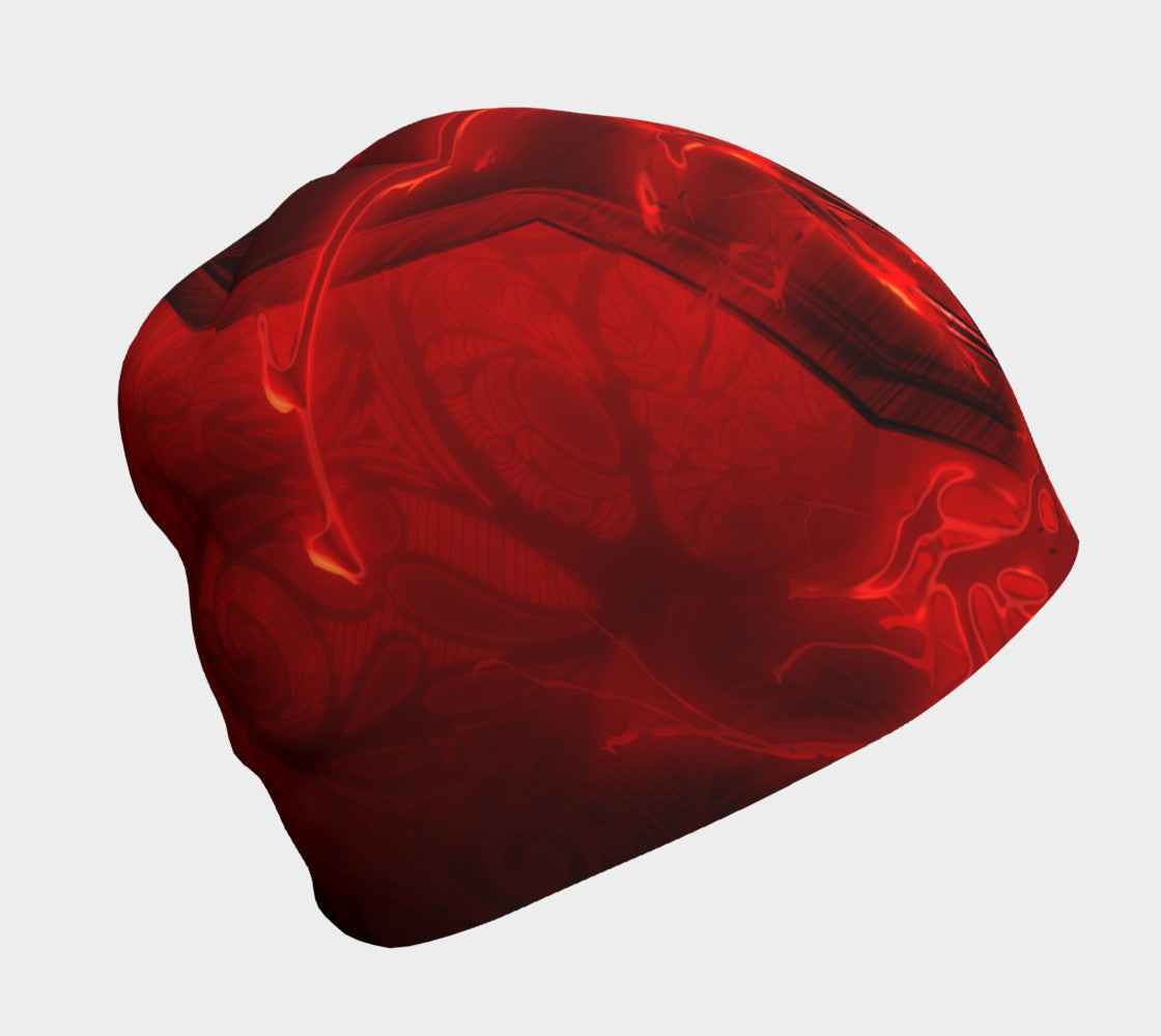 Violent Rage Red Anger Beanie