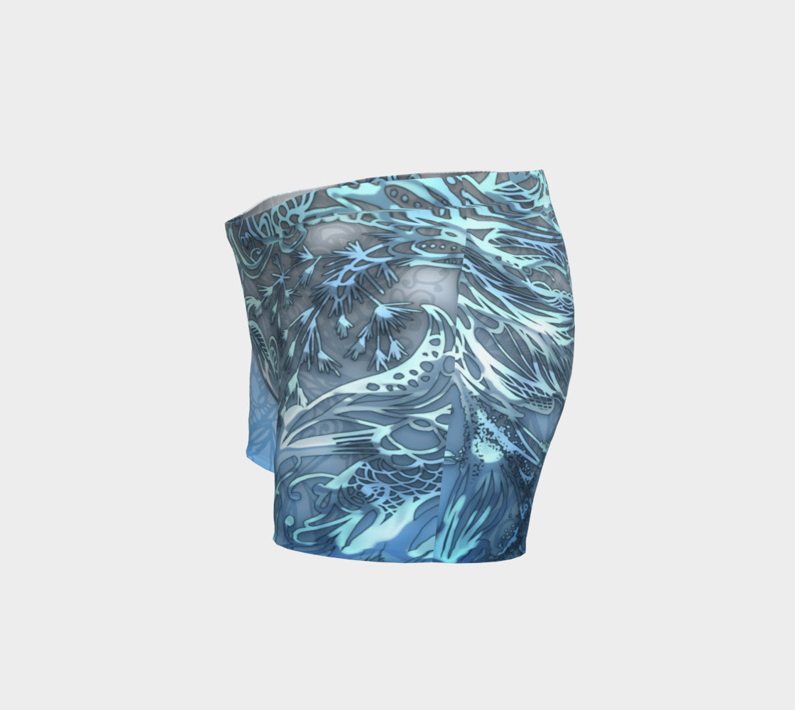 Pisces Womens Shorts