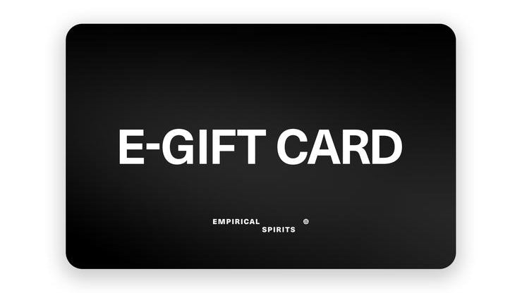 Empirical Spirits Gift Guide: E-gift card