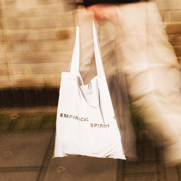 EMPIRICAL SPIRITS REFLECTIVE TOTE BAG