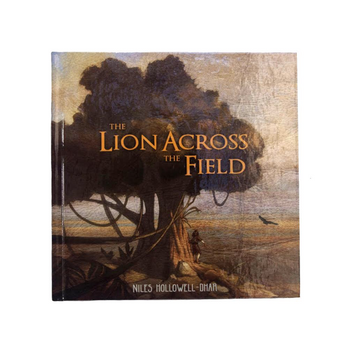 Lion Across The Field - Book