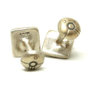 Lisa Jenks Sterling Cufflinks - American Modernist