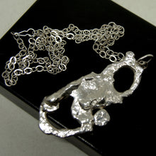 Load image into Gallery viewer, Rare Rafael Canada Necklace - Organic Sterling Silver