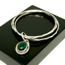 Load image into Gallery viewer, Rare Rafael Canada Charm Bangles - Sterling Silver