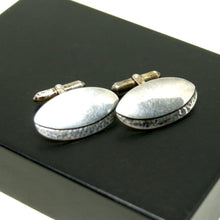 Load image into Gallery viewer, Rare George Brooks Cufflinks - Sterling Silver - Quebec Modernist