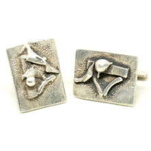 Load image into Gallery viewer, Rare George Dancy Cufflinks - Ontario Canadian Modernist