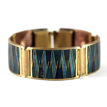 Load image into Gallery viewer, Scholtz & Lammel Bracelet - Matte Enamel - Blue Teal - German