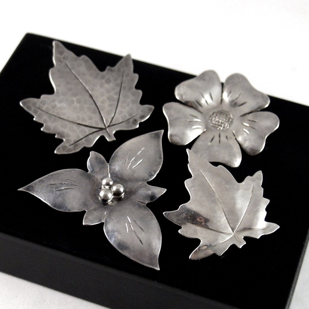 Rare Canadian Sterling Brooch Set - Bob Ford - Andrew Fussell