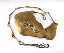 Large Joseph Boris Chain Belt - Mixed Metals - Modernist