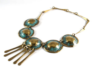 Bold Joseph Boris Necklace - Verdigris - Modernist