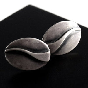 Maxwell Chayat Earrings - American Modernist - Wave