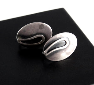 Maxwell Chayat Earrings - American Modernist - Drop Design