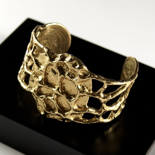 Anne Dick Bracelet - Honeycomb Design - Modernist
