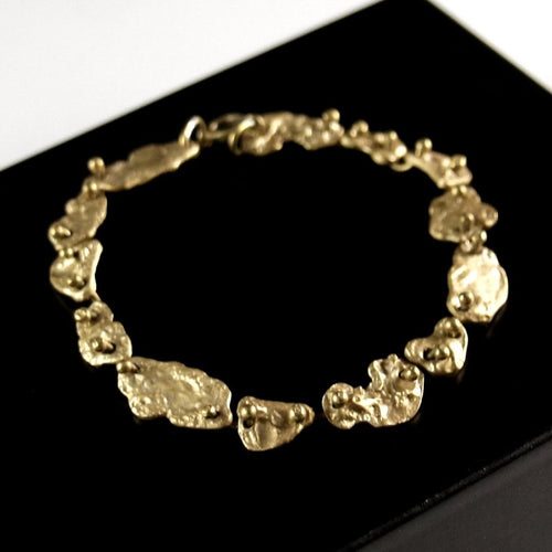 Anne Dick Chain Bracelet - Nuggets - Brutalist