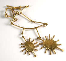 Load image into Gallery viewer, Rare Anne Dick Necklace - Sun Burst - Modernist