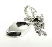 Load image into Gallery viewer, Bernard Chaudron Sterling Necklace - Sculptural - Modernist