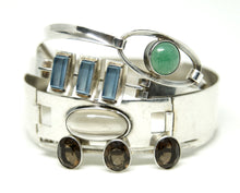 Load image into Gallery viewer, Kultaseppa Salovaara Bracelet - Modernist Smoky Quartz