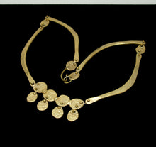 Rare Anne Dick Necklace - Golden Statement - Modernist