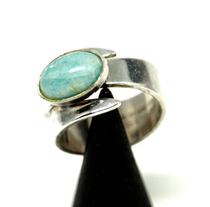 David Andersen Amazonite Wrap Ring