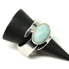 Load image into Gallery viewer, David Andersen Amazonite Wrap Ring