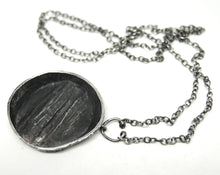 Finnish Sten & Laine Necklace - Carved Sterling